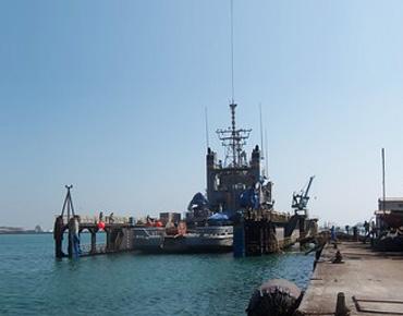 BASREC SHIP HANDLING FACILITIES AT MINA SALMAN (BAHRAIN)