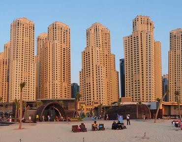 JUMEIRAH BEACH RESIDENCE IN (DUBAI)